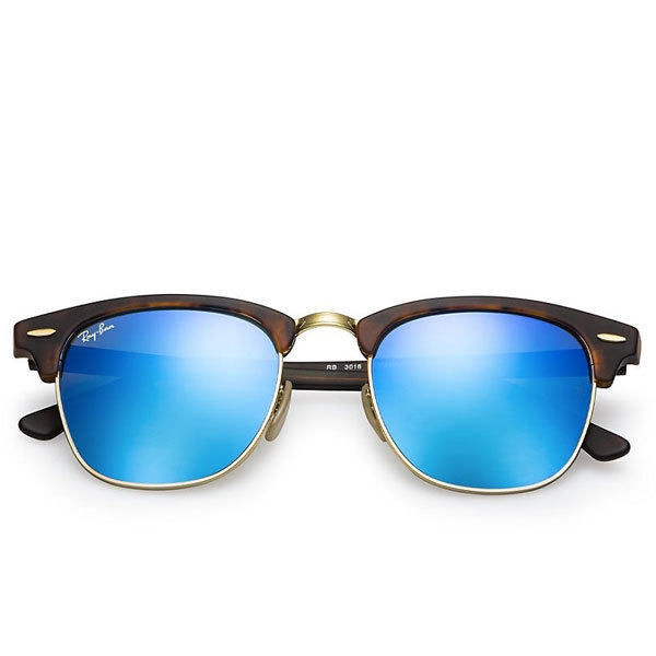 Ray-Ban CLUBMASTER RB3016 Sunglasses Tortoise Image