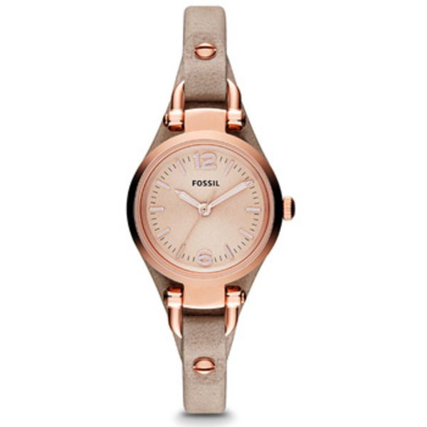 Fossil GEORGIA Rose-Tone Ladies Watch 26mm Image