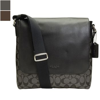 Coach CHARLES SIGNATURE Small Messenger Bag