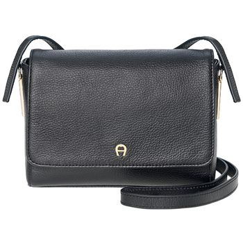 Aigner Leather Crossover Bag