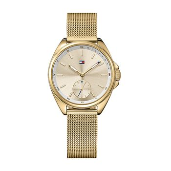 Tommy Hilfiger AVA Ladies Watch IP-Gold
