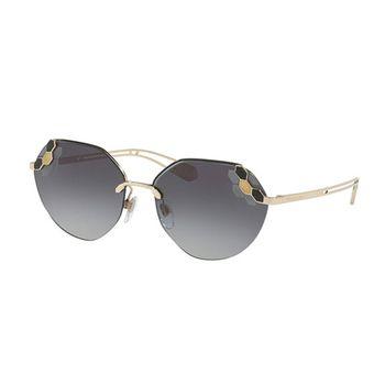 Bvlgari SERPENTEYES BV6099 Oval Women's Sunglasses