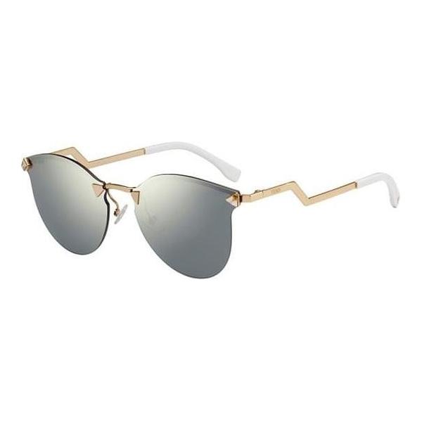 Fendi FN-0040/S Square Women's Sunglasses Image