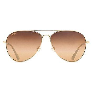 Maui Jim MAVERICKS MJ-HS264-16 Aviator Women's Sunglasses