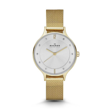 Skagen ANITA Gold-Tone Ladies Watch