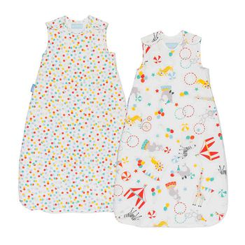 The Gro Company Grobag Baby Sleep Bags Twin Pack (0-6months)