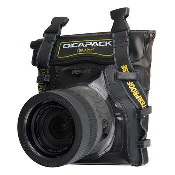 DiCAPac Waterproof Case for Mid Range DSLR Cameras