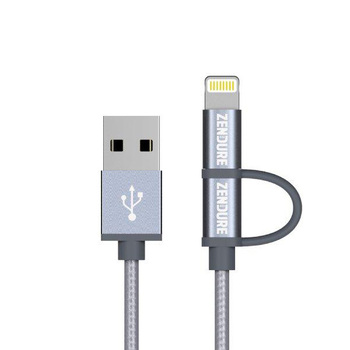 Zendure 2-in-1 Lightning / microUSB Charging Cable