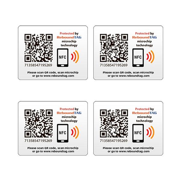 ReboundTAG Adhesive Protector TAGs Pack - 4pcs Image