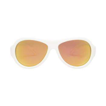 Babiators WICKED WHITE Polarized Aviator Kids Sunglasses