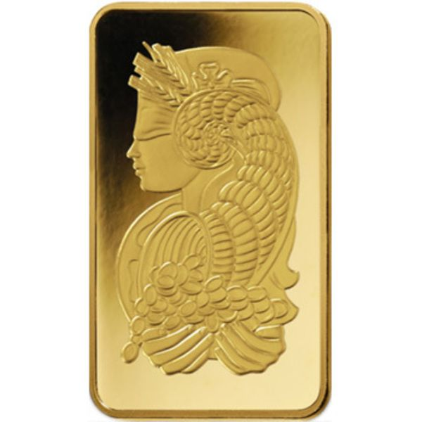 PAMP Fortuna Gold Ingot 1/2oz Image