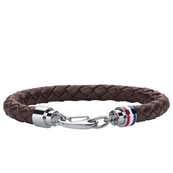Tommy Hilfiger COOL CORE Men's Leather Cord Bracelet Image