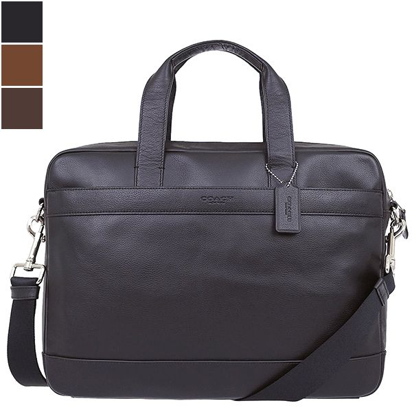 Coach HAMILTON Smooth Leather Briefcase Image
