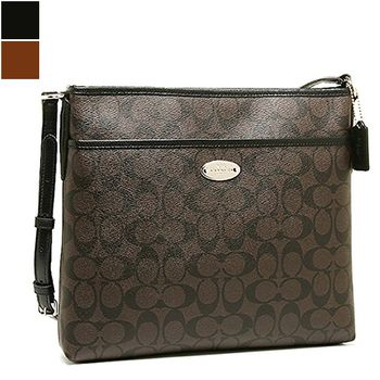 Coach SIGNATURE File Bag