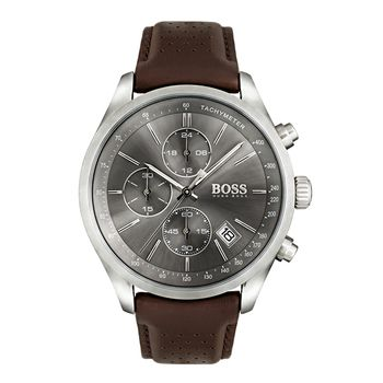 Hugo Boss GRAND PRIX Gents Chronograph with Leather Strap