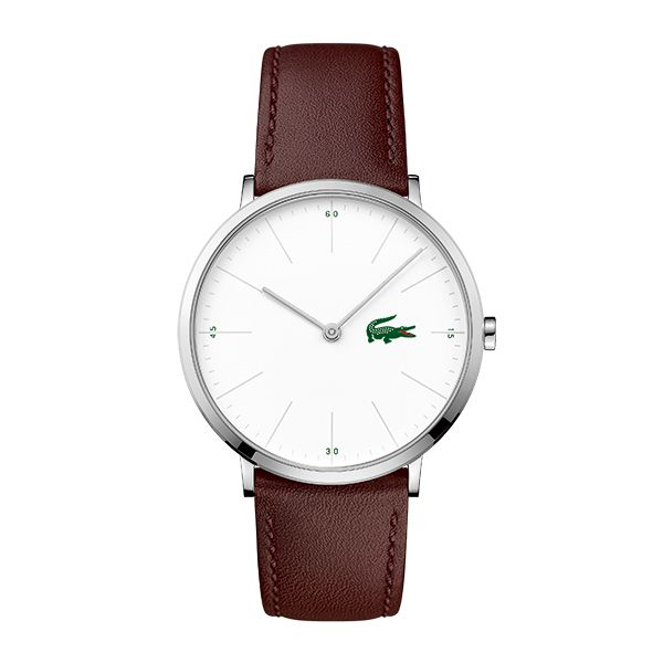 Lacoste MOON Gents Watch with Leather Strap Image