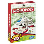 Hasbro Monopoly Board Game - Grab & Go