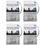 Rebound Tag Microchip Bag Tag - Family Pack