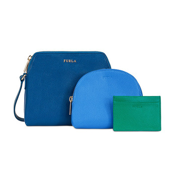 Furla BOHEME XL Crossbody with Zip-Pouch & Card Case
