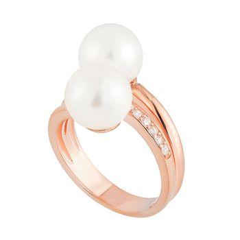Mia's SOFIA'S Double Pearl Ring