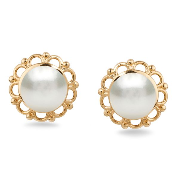UMI Pearls FLORA Pearl Earrings Image