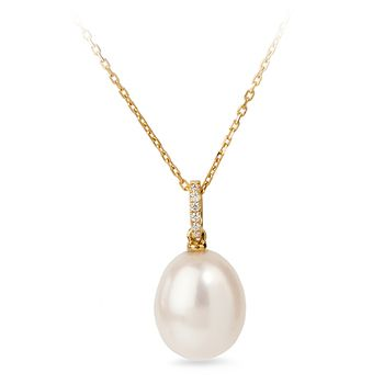 UMI Pearls ASTRIA Diamond Pearl Pendant
