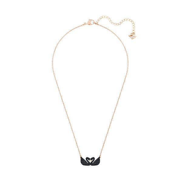 Swarovski ICONIC Double Swan Necklace Image