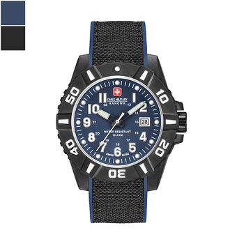 Swiss Military Hanowa BLACK CARBON Gents Watch