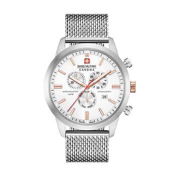 Swiss Military Hanowa CLASSIC Gents Chronograph - Silver Mesh