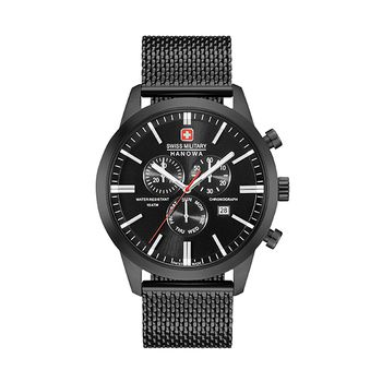 Swiss Military Hanowa CLASSIC Gents Chronograph - Black Mesh