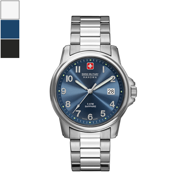 Swiss Military Hanowa SWISS SOLDIER Gents Watch - Steel Strap Image