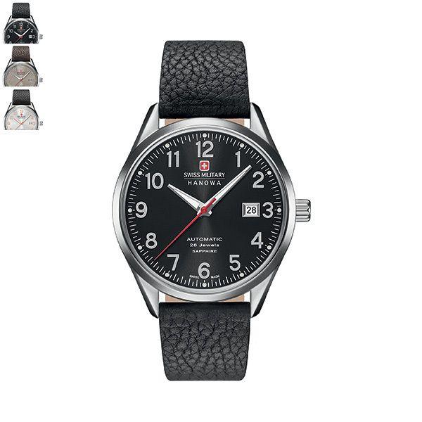 Swiss Military Hanowa HELVETUS Gents Watch - Leather Strap Image