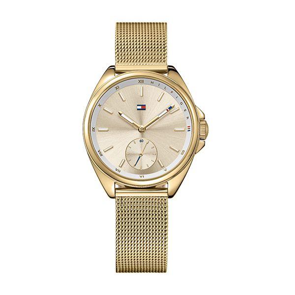Tommy Hilfiger AVA Ladies Watch IP-Gold Image