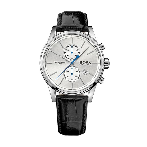 Hugo Boss JET Gents Chronograph with Leather Strap Image