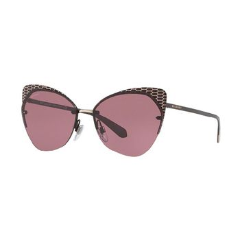 Bvlgari SERPENTEYES BV6096 Cat-Eye Women's Sunglasses