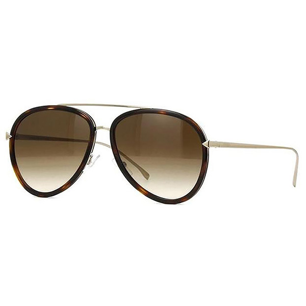 Fendi FN-0155/S Aviator Women's Sunglasses Image