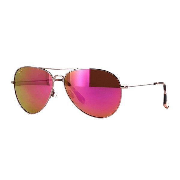 Maui Jim MAVERICKS MJ-P264-16R Aviator Women's Sunglasses Image