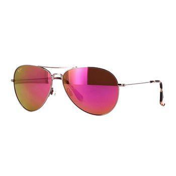 Maui Jim MAVERICKS MJ-P264-16R Aviator Women's Sunglasses