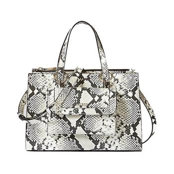 Guess SIENNA Python Print Satchel Bag