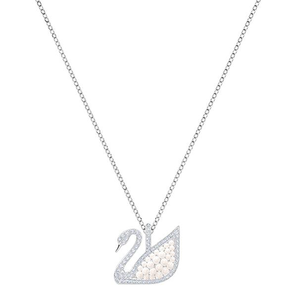 Swarovski ICONIC Swan Medium Pendant Necklace Image