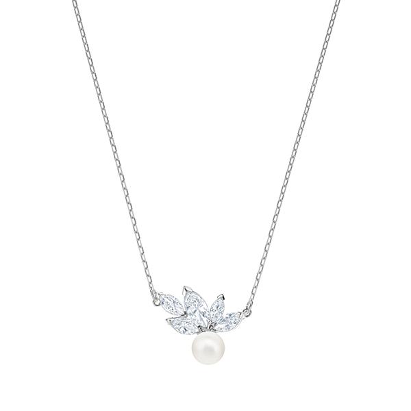 Swarovski LOUISON Pearl Pendant Necklace Image