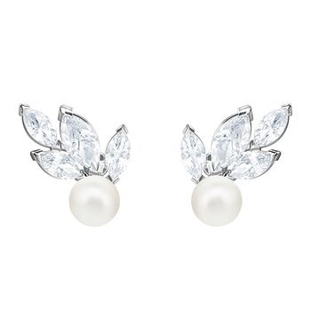 Swarovski LOUISON Pearl Pierced Earrings