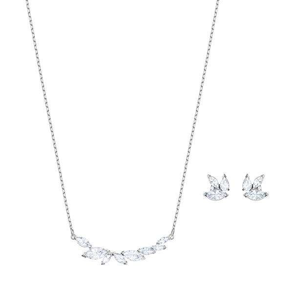 Swarovski LOUISON Necklace & Earrings Set Image