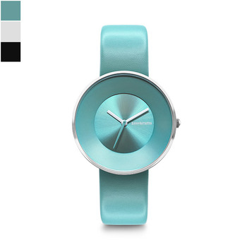 Lambretta CIELO 34 Ladies Watch with Leather Strap - Silver