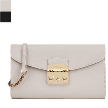 Furla METROPOLIS S Pochette with Chain
