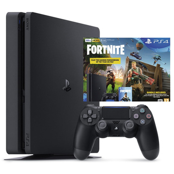 PlayStation Bundle: PS4 500GB + Battle Royal Fortnite