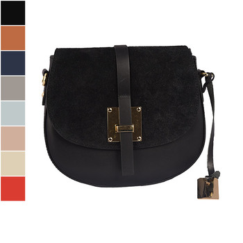 Emilio Masi COLORADO Leather Crossbody Bag