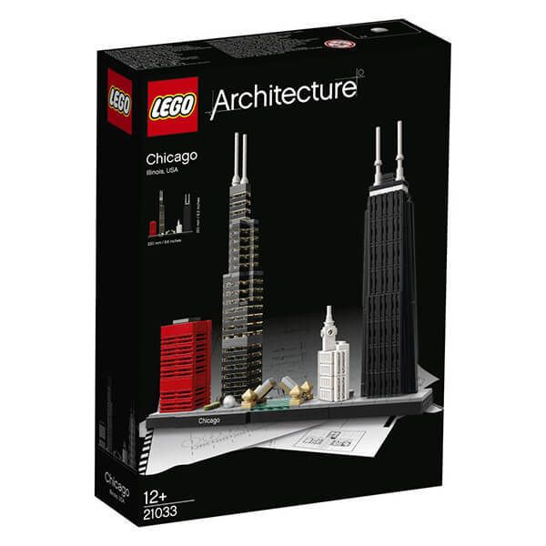 Lego ARCHITECTURE Chicago Image