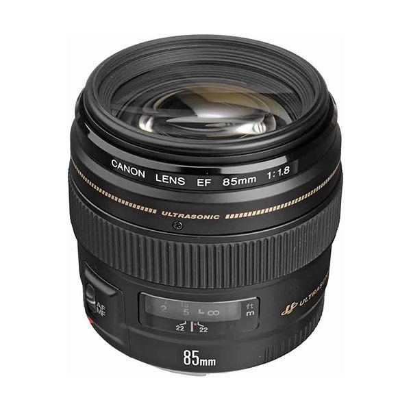 Canon EF 85mm f/1.8 USM Short Telephoto Lens Image