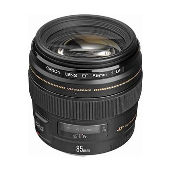 Canon EF 85mm f/1.8 USM Short Telephoto Lens
